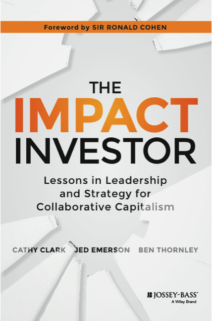 the impact investor cover