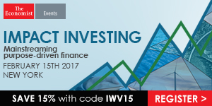 The Economist Impact Investing Conference