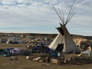 Image of Standing Rock campsite by Matt Patsky