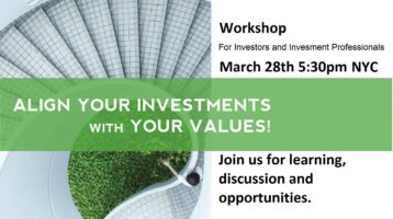 Your Money and Investments Matter – Workshop
