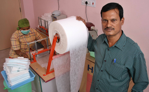 Jayashree Industries: Achieving gender equity one sanitary pad at a time