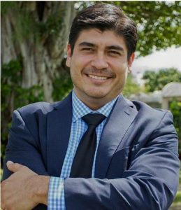 Carlos Alvarado Quesada, a member of the center-left Citizens' Action Party (PAC), Alvarado was previously Minister of Labor and Social Security during the Presidency of Solís Rivera. 2015, (Photo courtesy Wikimedia)